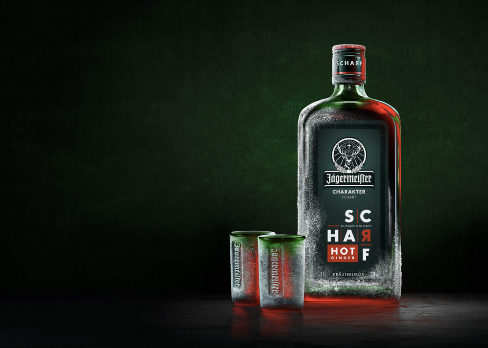 Jägermeister Scharf : la version intense au gingembre
