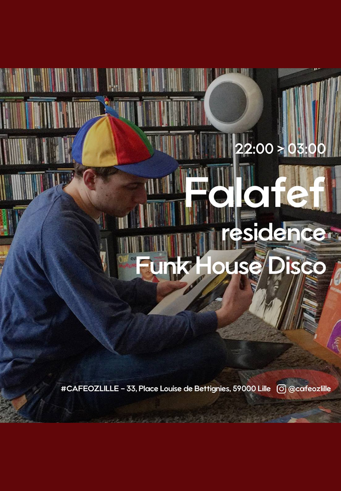 Falafef (Funk House Disco) all night long